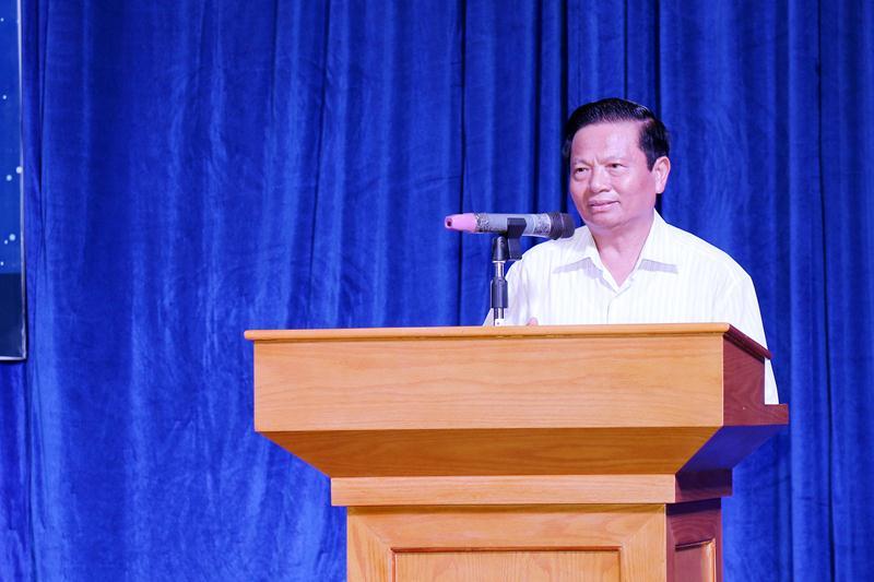 Tiến sĩ Lê Doãn Hợp - Nguyên  Ủy viên Trung ương Đảng, Nguyên Bộ trưởng Bộ Thông tin và Truyền thông, Chủ tịch Hội truyền thông số Việt Nam.