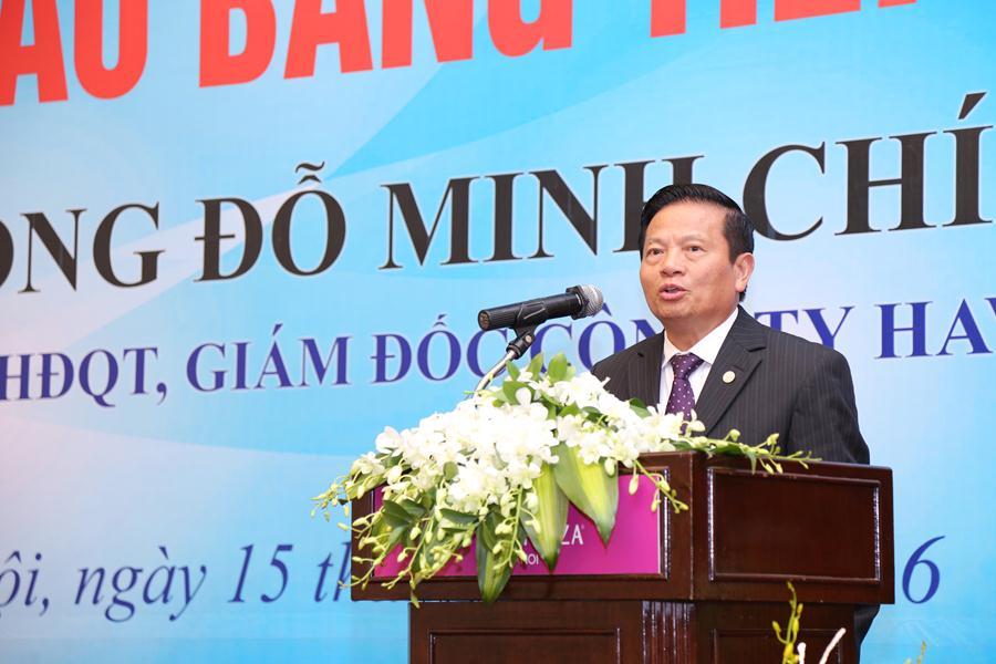 Nguyên Bộ trưởng Lê Doãn Hợp phát biểu tại sự kiện