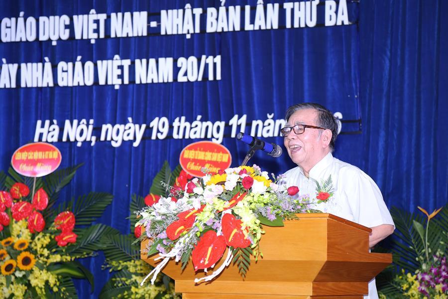 GS.TS. Vũ Hoan - Bí thư Đảng đoàn, Chủ tịch Liên hiệp các hội KH&KT Hà Nội