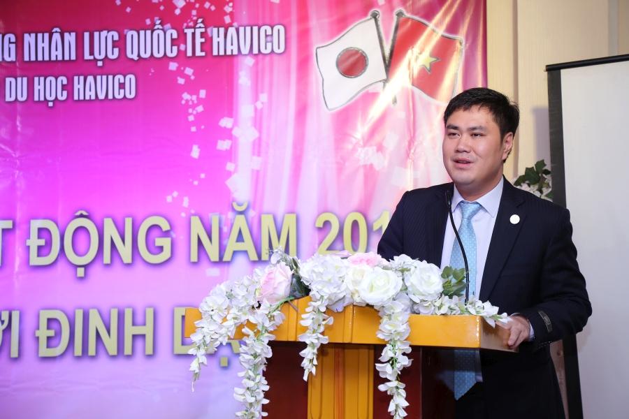 TS. Đỗ Minh Chính phát biểu tại buổi họp.
