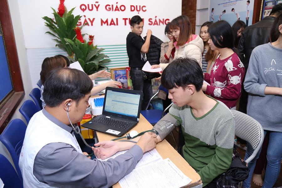 Công tác đăng ký và kiểm tra sức khoẻ