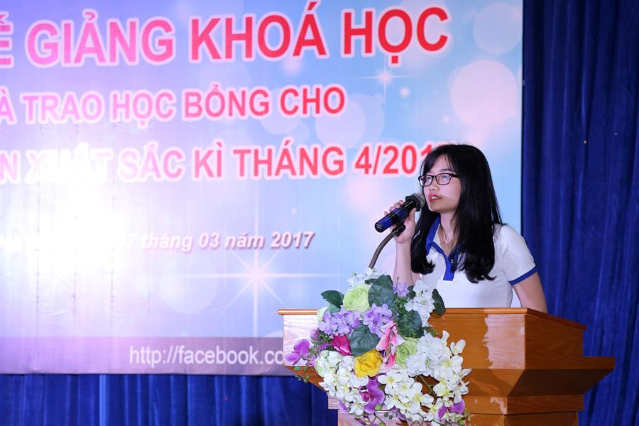 Em Nguyễn Thị Diệu Linh - lớp K16-A8