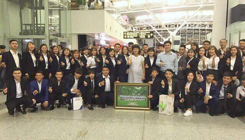 Đoàn bay có cả sự tham gia của Chủ tịch Đỗ Minh Chính và Phó chủ tịch Mai Ngọc Anh