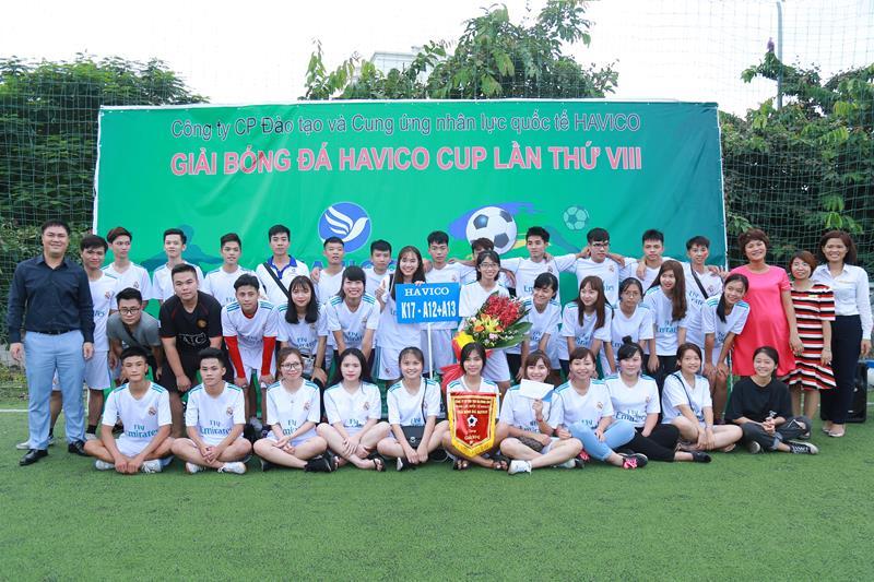 Giải nhì - đội K17-A12+A13