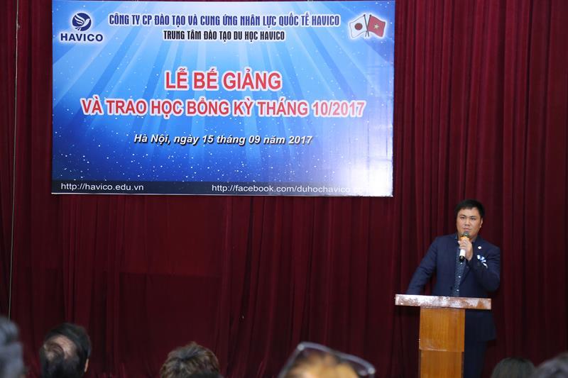 TS. Đỗ Minh Chính phát biểu tại sự kiện