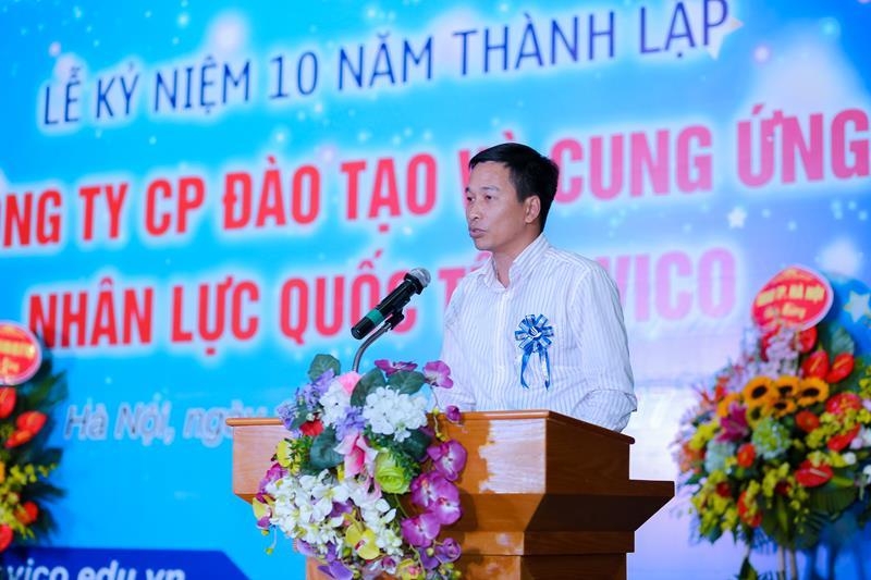 Ông Trần Vũ Thành - Chủ tịch CLB Trí thức trẻ Hà Nội