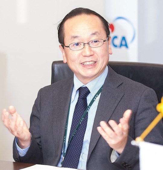 Tân Trưởng đại diện Văn phòng JICA Việt Nam Konaka Tetsuo cho biết DNTN có thể vay vốn ODA Nhật Bản.
