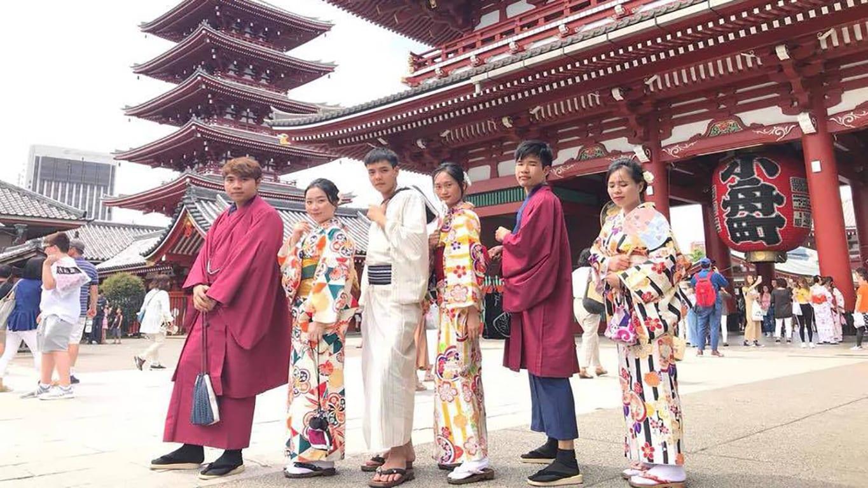 Học viên HAVICO cùng lễ hội Tanabata tại Nhật Bản