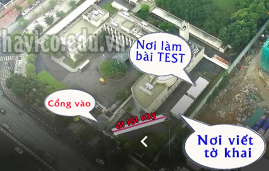 Loi di vao phong van tai Dai su quan Nhat Ban
