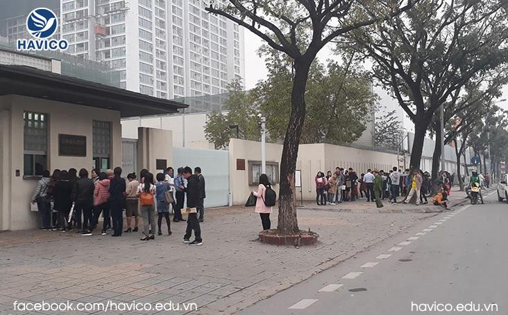 Kinh nghiem tra loi phong van xin visa du hoc Nhat Ban 2019 tai Dai su quan