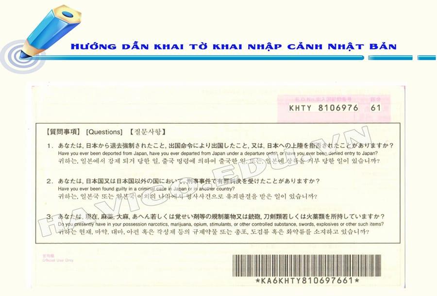 Du hoc Nhat Ban HAVICO mat sau to khai nhap canh Nhat Ban 2019