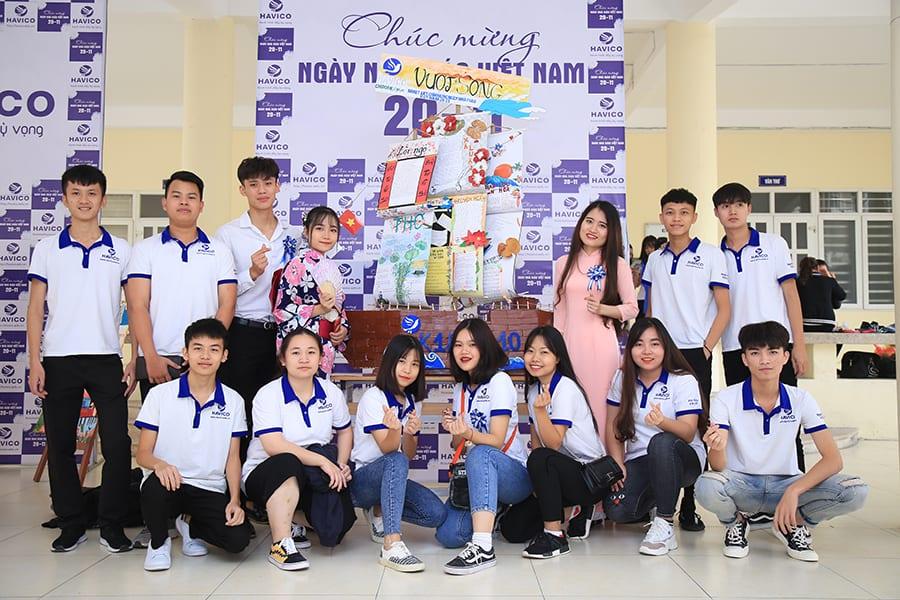 Du học Nhật Bản HAVICO – Tập thể lớp K18 A10
