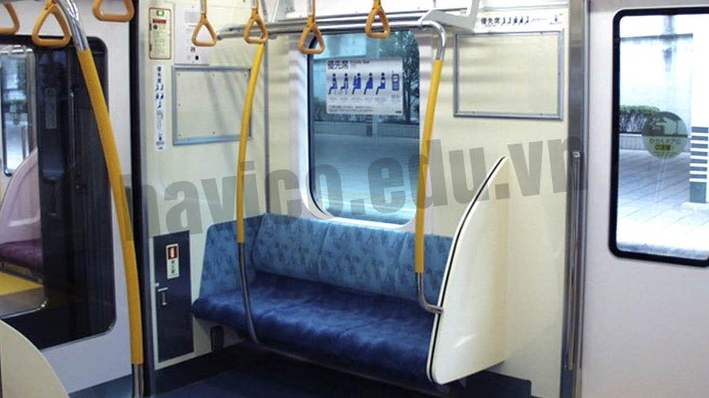 Những lưu ý khi sử dụng tàu điện tại Nhật Bản