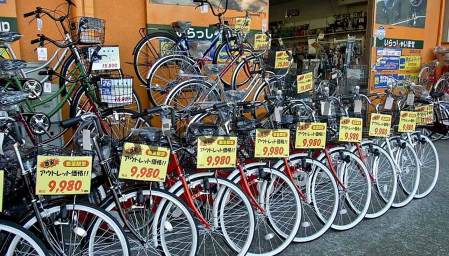 Xe đạp - Phương tiện đi lại chủ yếu của du học sinh tại Nhật Bản