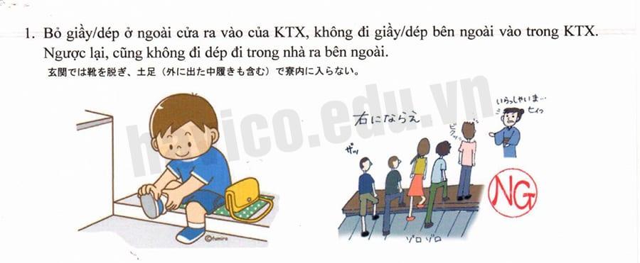 Những quy định trong ký túc xá khi đi du học Nhật Bản