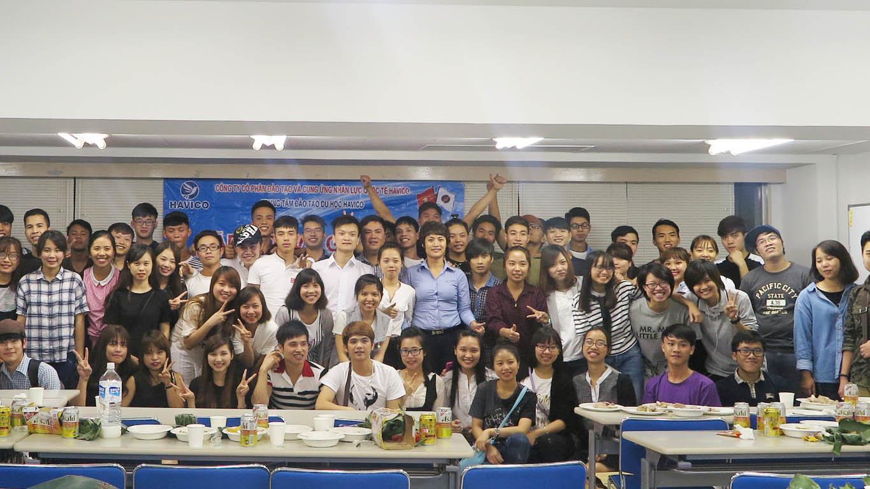 Gặp mặt và gửi hồ sơ lên Đại học - Chuyên môn cho học viên HAVICO tại Nhật Bản