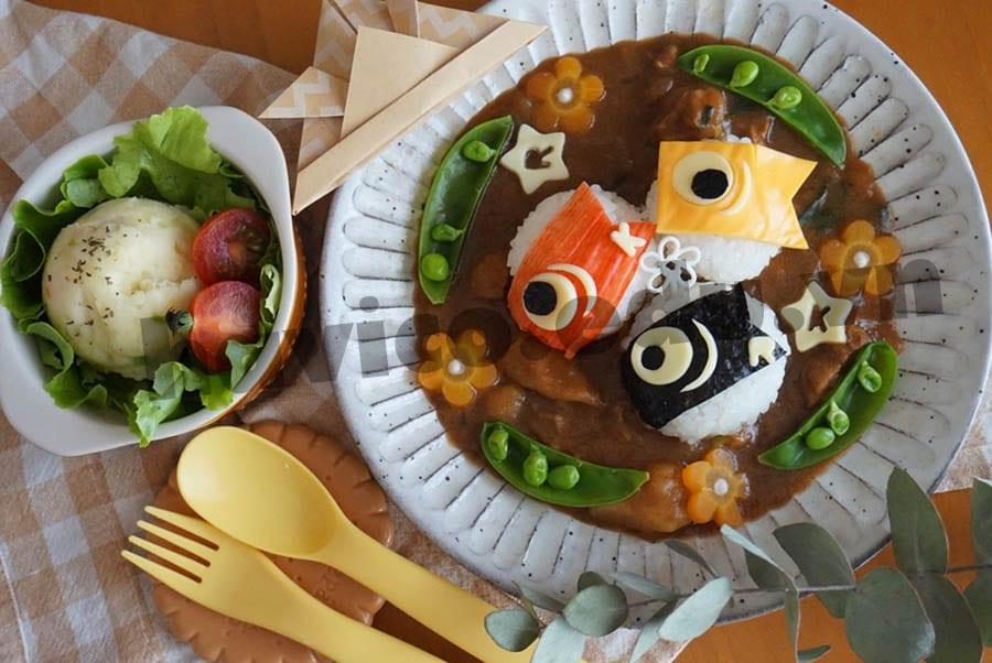 Những món ăn có hình dạng cá chép trong dịp lễ Koinobori