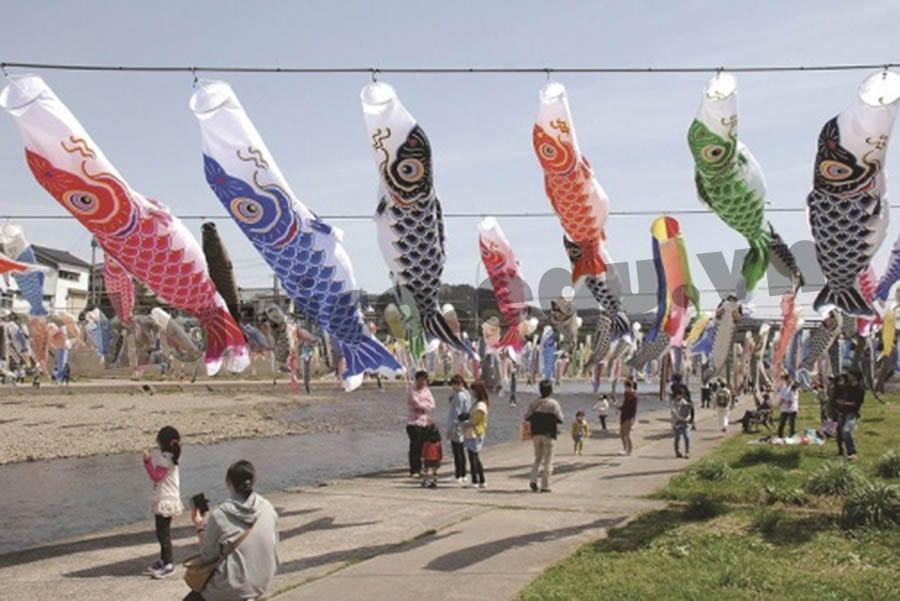 Koinobori - Lễ hội bé trai tại Nhật Bản