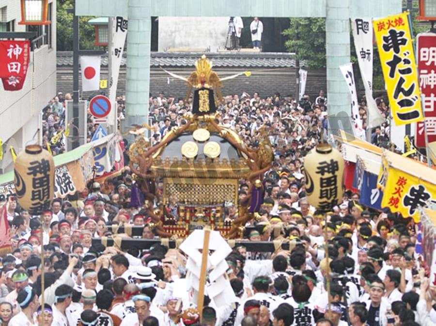 Lễ hội Kanda Matsuri tại Nhật Bản - Văn hóa Nhật Bản