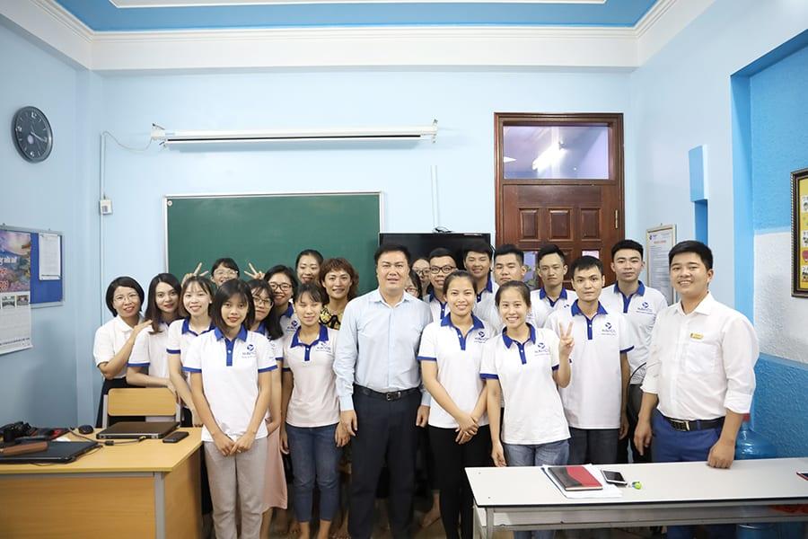 Buổi lễ khai giảng lớp K19A4
