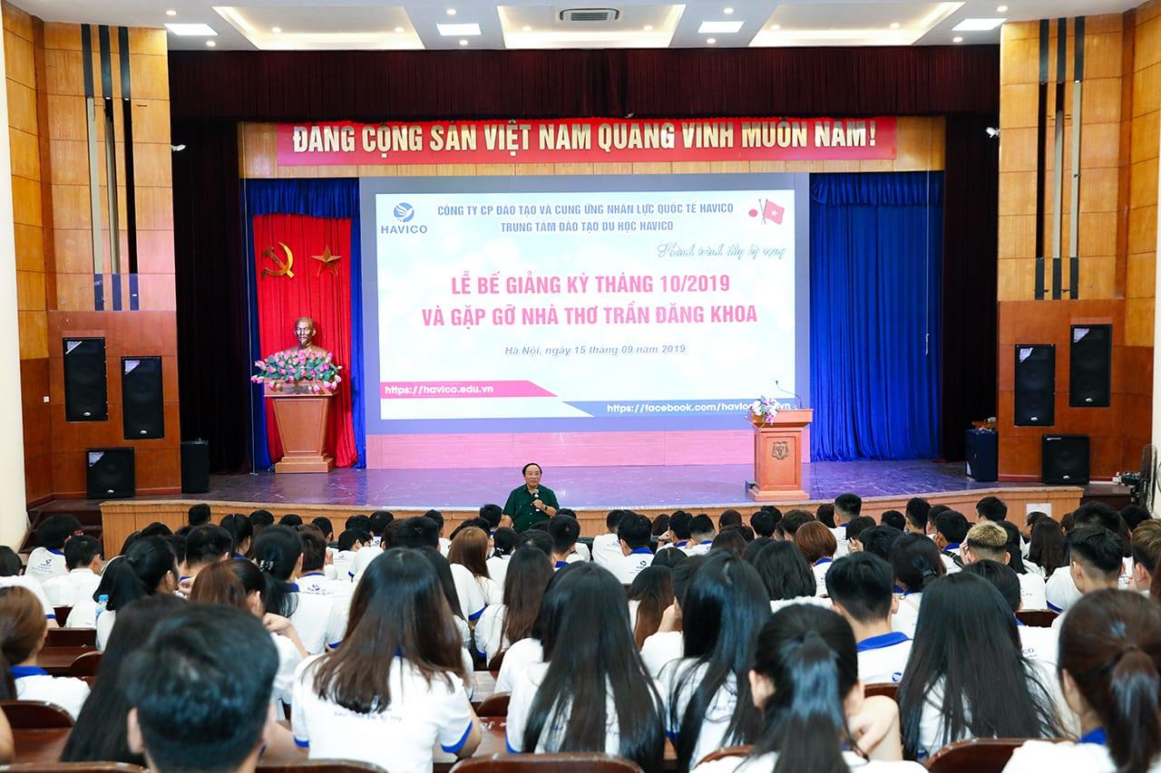 Nhà thơ Trần Đăng Khoa có những chia sẻ