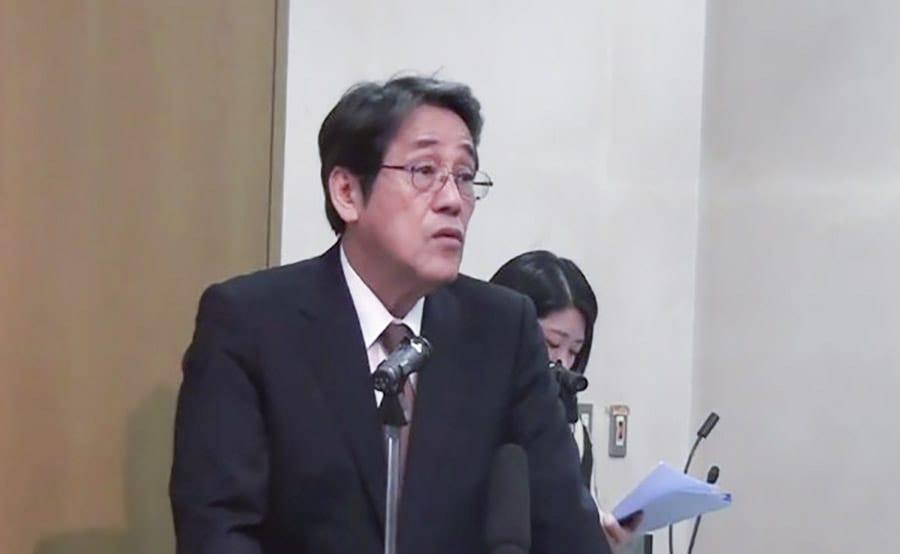 Đại sứ Nhật Bản tại Việt Nam Umeda Kunio phát biểu trong buổi hội thảo