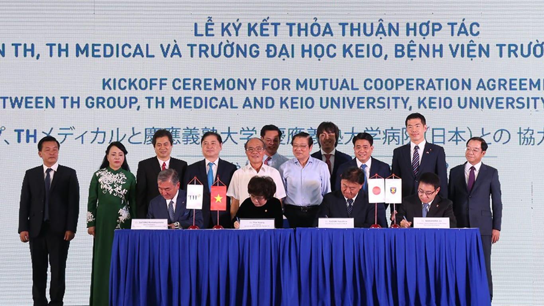 Việt Nam – Nhật Bản trao đổi nhân sự cho dự án tổ hợp y tế đầu tiên