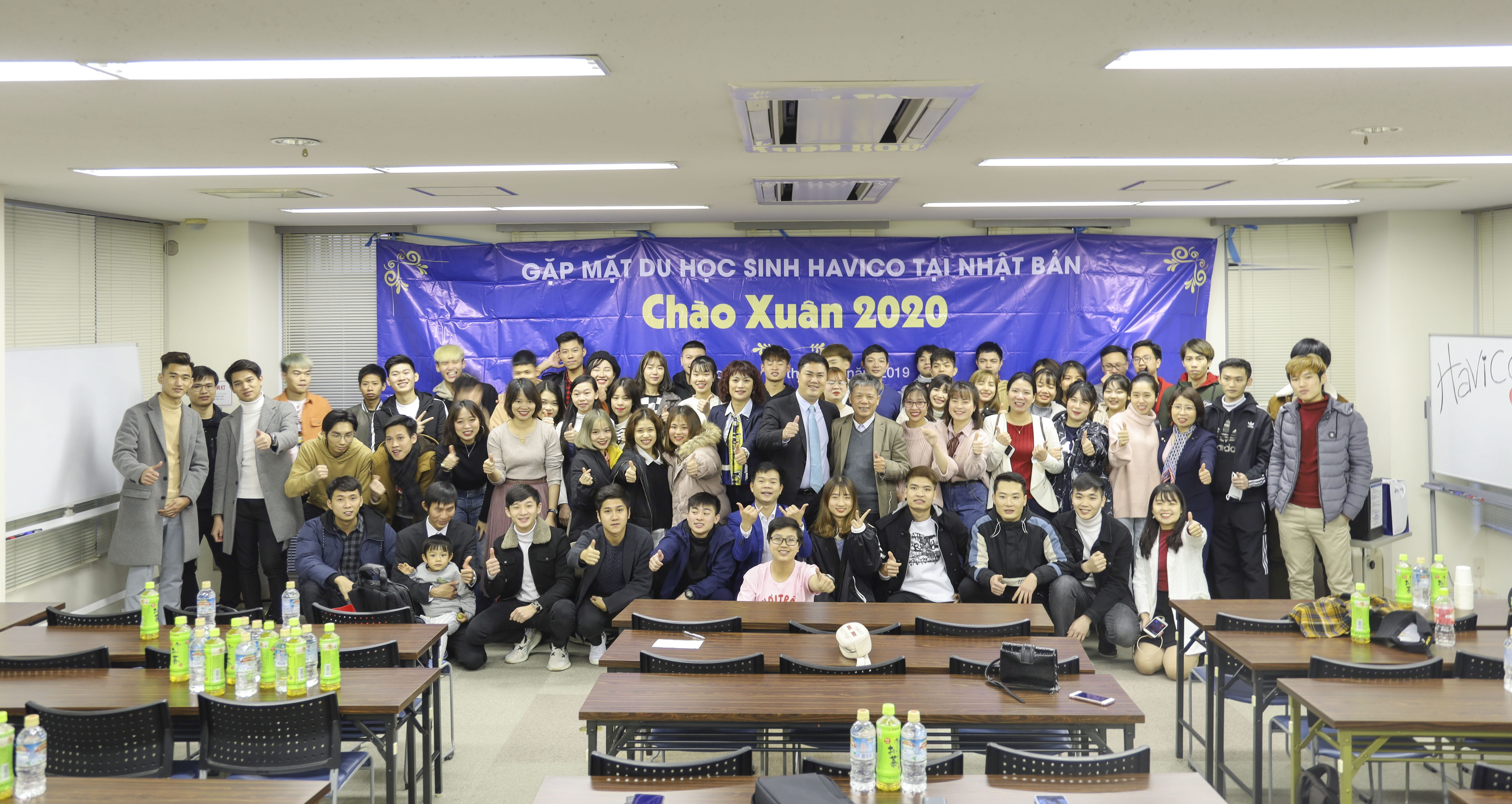Gặp mặt du học sinh HAVICO tại Nhật Bản