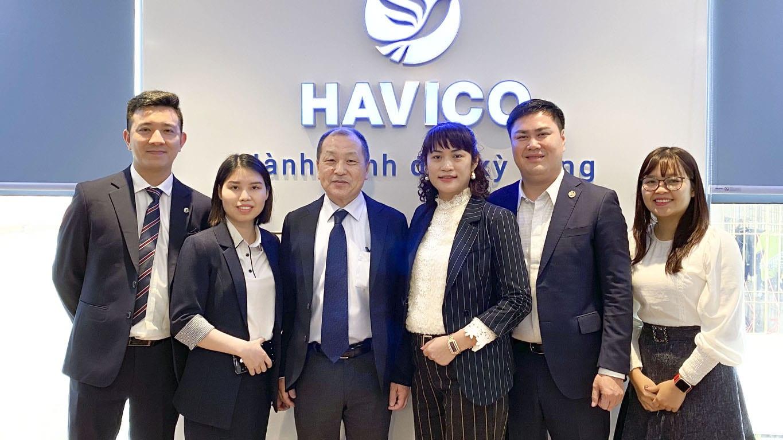Buổi giao lưu và phỏng vấn việc làm của tập đoàn Chiyoda với học viên HAVICO