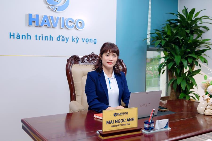 ThS. Mai Ngọc Anh - Phó chủ tịch HĐQT, Giám đốc Trung tâm đào tạo du học HAVICO