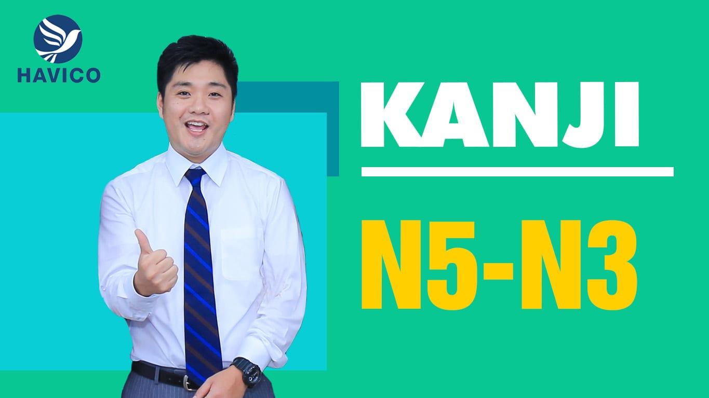 KANJI N5-N3