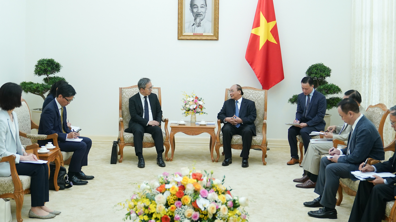 Thủ tướng Nguyễn Xuân Phúc tiếp Đại sứ Nhật Bản tại Việt Nam