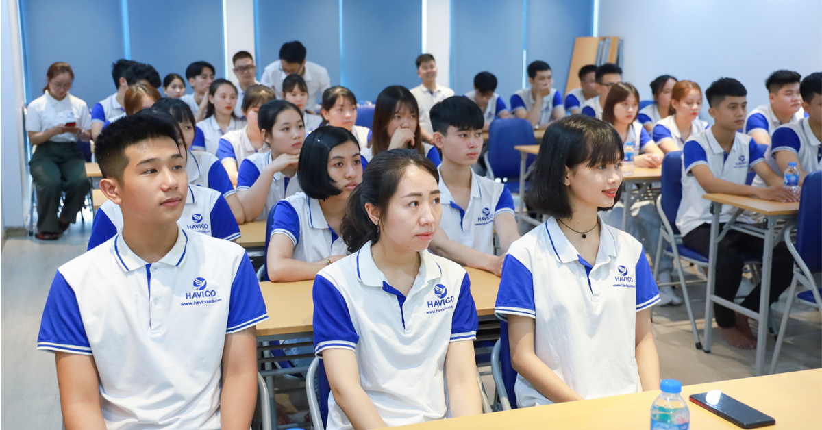 HAVICO khai giảng các lớp kỳ tháng 1 & 4 năm 2021