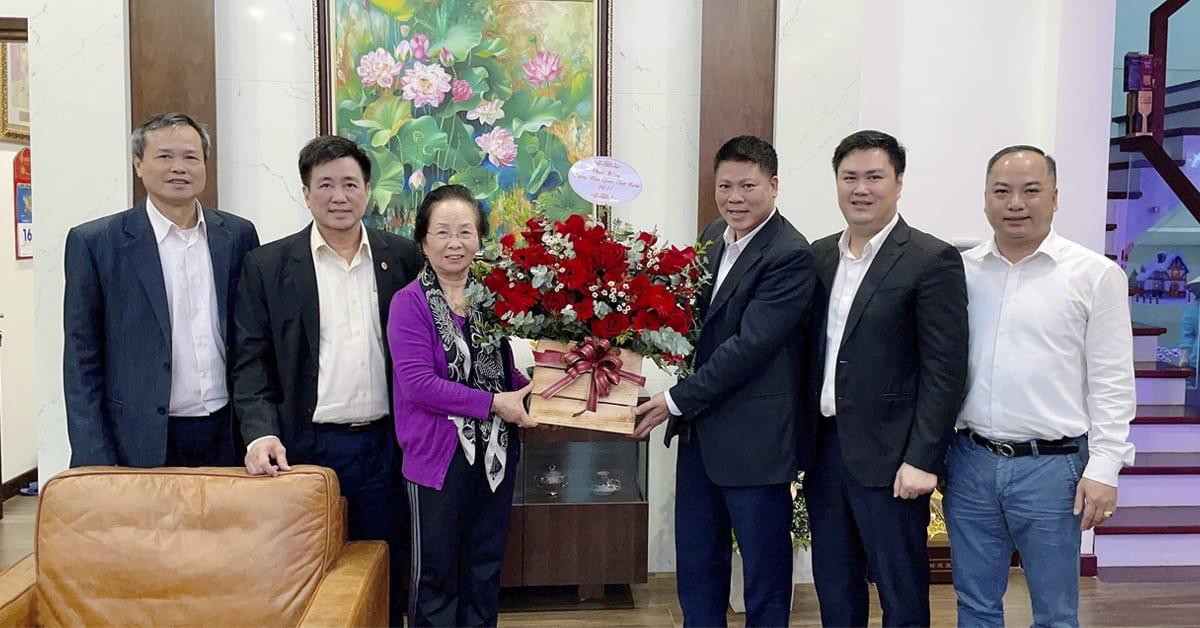 HAVICO đến thăm và chúc mừng GS.TS Nguyễn Thị Doan