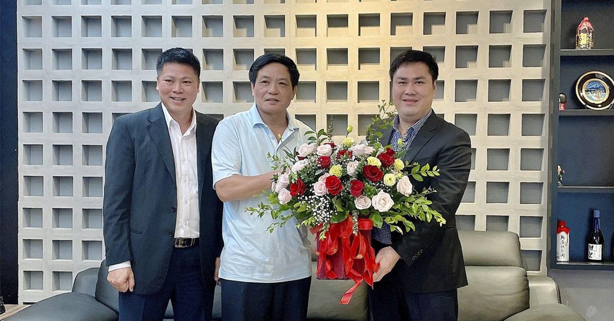 Tổng Biên tập Báo điện tử Đảng Cộng sản Việt Nam chúc mừng HAVICO