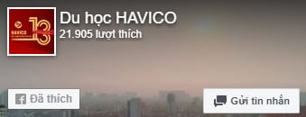 Du học HAVICO - Fanpage Facebook
