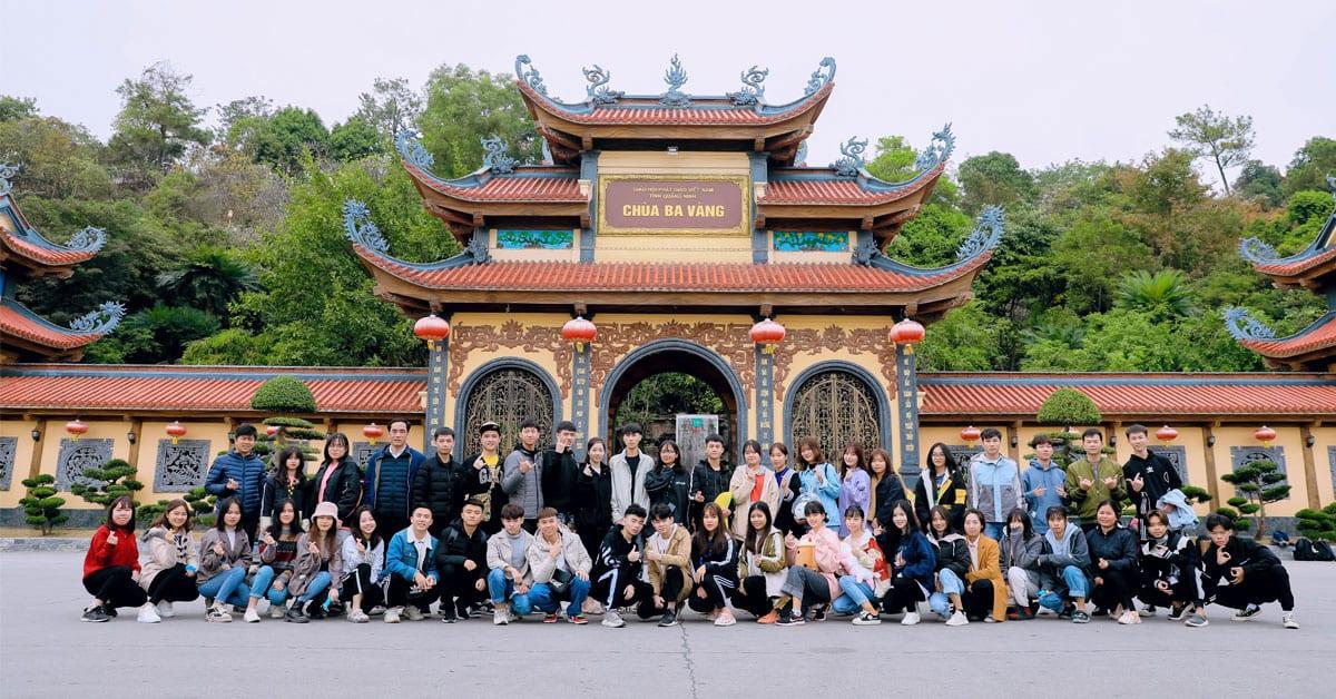 Học viên HAVICO đến thăm và tìm hiểu Phật Pháp tại chùa Ba Vàng