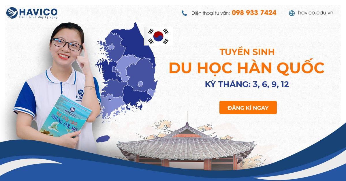 HAVICO GROUP - Tuyển sinh du học Hàn Quốc